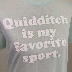 Harry Potter Tee - Quidditch is my Favorite Sport